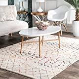 nuLOOM Moroccan Blythe Area Rug, 5' x 7' 5', Light Multi