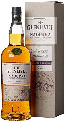 Glenlivet Nadurra Oloroso Sherry Cask mit Geschenkverpackung Whisky (1 x 1 l)