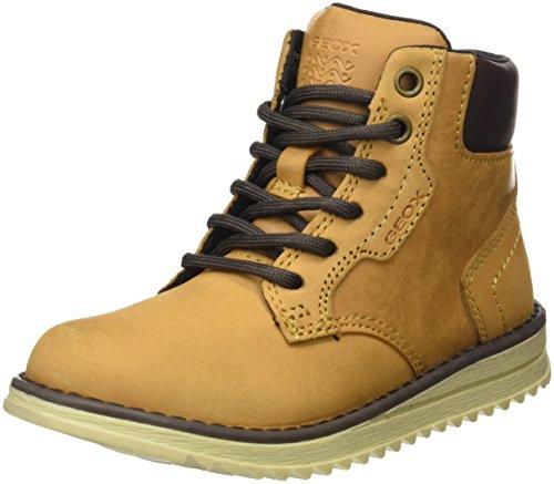 Geox Jungen J Wong Boy D Chukka Boots, Gelb (DK Yellow), 32 EU