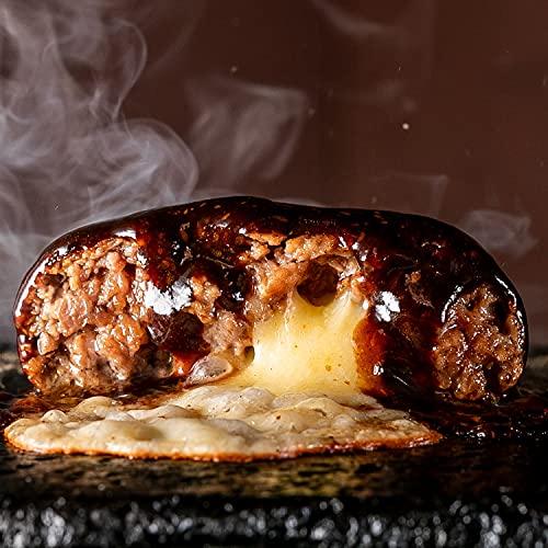 bonbori ( ぼんぼり ) 究極のひき肉で作る 牛100% ハンバーグ [ 200g × 16個入り / チーズ入り ソース有り ] 無添加 / 冷凍ギフト/ お取り寄せ / 贈り物 / 敬老の日 / ビーフハンバーグ