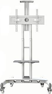 Noth Bayou NB AVA1500-60-1P - Blanco El Soporte móvil de Suelo para Pantallas LCD LED Plasma y curvadas de 32 a 65 (81...