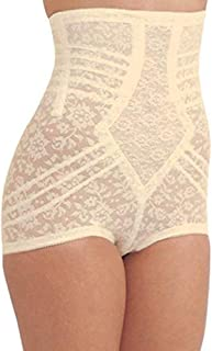 Rago Style 6107 – High-Waist Extra-Firm Shaping Panty Brief.Guaranteed No Top Roll