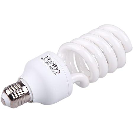 Sodial E27 220v 45w 5500k Fotostudio Bulb Video Elektronik
