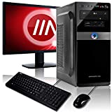 Memory PC Komplett PC A8-9600 4X 3.4 GHz, 8 GB DDR4, 240 GB SSD + 1000 GB, Radeon R7 2GB, 22' Monitor, Tastatur und Maus Set, Windows 10 Pro 64bit