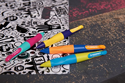 STABILO Trio – Lápiz de color escolar triangular – Estuche de 18 colores