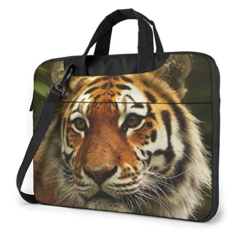 Tiger Computer Bag Durable Laptop Briefcase Shoulder Messenger Bag for Computer Notebook 15.6 inch