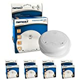 4x Nemaxx WL2 wireless smoke detector smoke detector interconnectable - according to DIN EN 14604