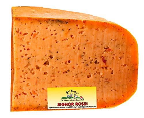 Signor Rossi| Jule's Käsekiste | Rohmilchkäse | Glutenfrei | Von Natur aus Laktosefrei (1,1 KG)