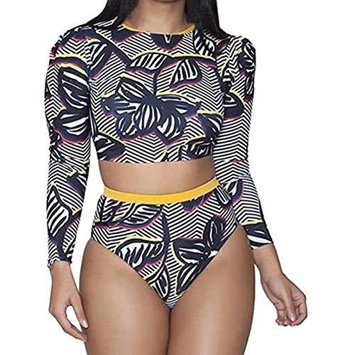 Pistaz - Bikini africano con estampado tribal de dos piezas