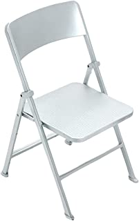 Phicen 1/6 Scale Folding Chair Playsets for Action Figures BJD Dolls Soldiers (Silver)