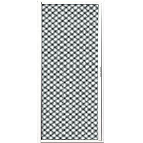 National Door Company White Retractable Screen