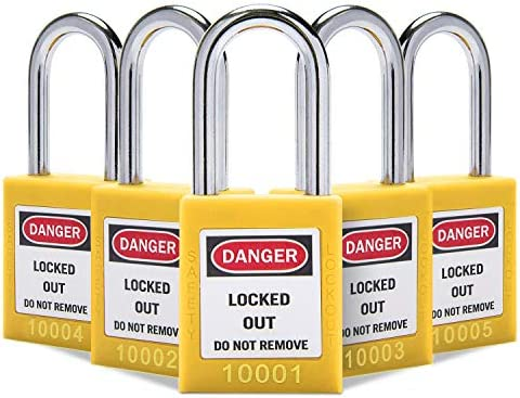 Lockout Tagout Locks Lockout Locks Keyed Different Safety Padlocks Loto Locks for Lock Out Tag product image