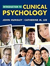 Introduction to Clinical Psychology: An Evidence-Based Approach