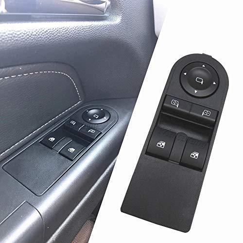 Interruptor de la Ventana 13228706 Interruptor de Ventana Compatible con Opel Astra H 2005-2010 Zafira B 2005-2015 13228706 reemplazo