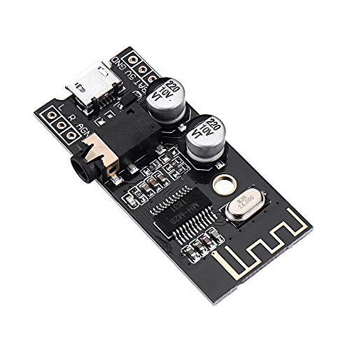 Modulo electronico M28 Bluetooth 4.2 Módulo receptor de audio con conector de 3,5 interfaz de audio sin pérdidas del coche del altavoz del amplificador del auricular inalámbrico Junta Vuelva a colocar