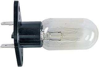 Glühlampe für Mikrowellen 25W Anschlüsse gerade