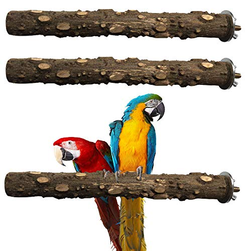 Bird Stands for Cockatoo Supplies for Medium Parrot LiMio Bird Perch for African Grey