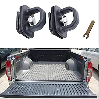Truck Tie Down Anchors Tie Down Hooks for Truck Bed Fits 2007-2018 Chevy Silverado/GMC Sierra,2015-2018 Chevy Colorado/GMC...