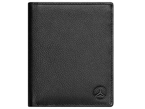 Mercedes-Benz, Geldbörse, mit RFID Funktion, Kartenschutz, schwarz, Leder