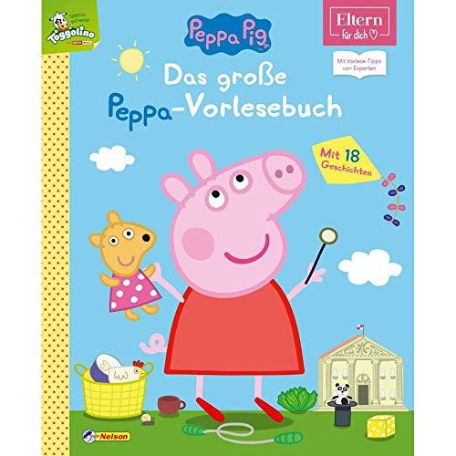 Das große Peppa-Vorlesebuch (ELTERN-Vorlesebuch): Mit Vorlese-Tipps von Experten (Peppa Pig)
