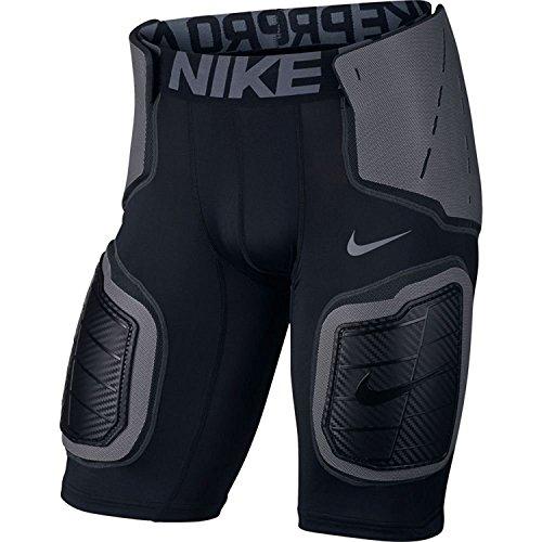 Men's Nike Pro Hyperstrong Core Football Short Black/Anthracite/Dark Grey/Flint Grey Size Medium