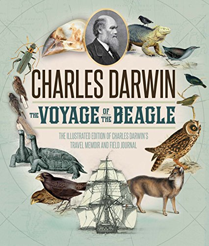 The Voyage of the Beagle:The Illustrated Edition of Charles Darwin's Travel Memoir and Field Journal (English Edition)