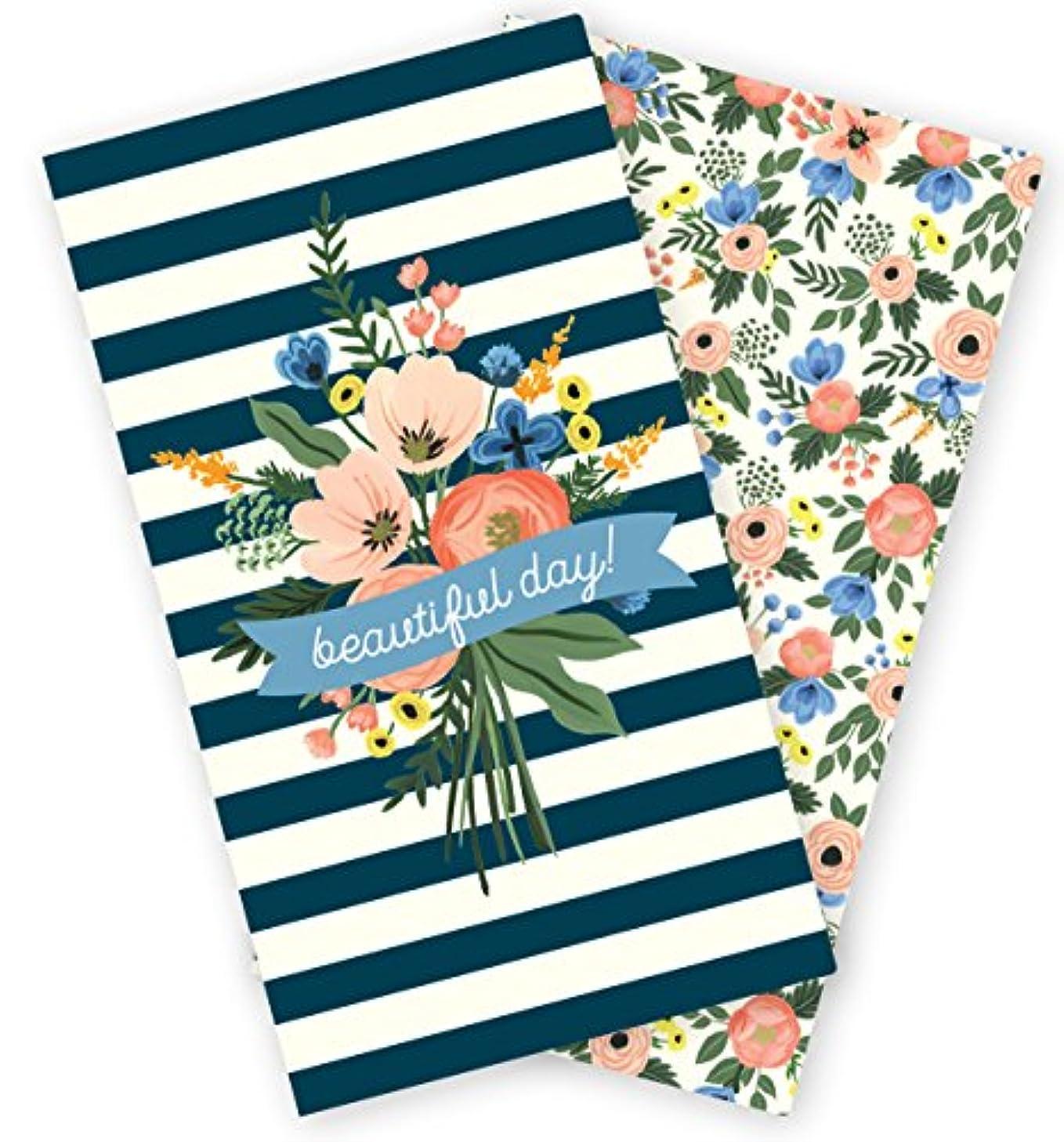 Echo Park Paper Company Calendar Fancy Flora Travelers Notebook Insert -Daily, None