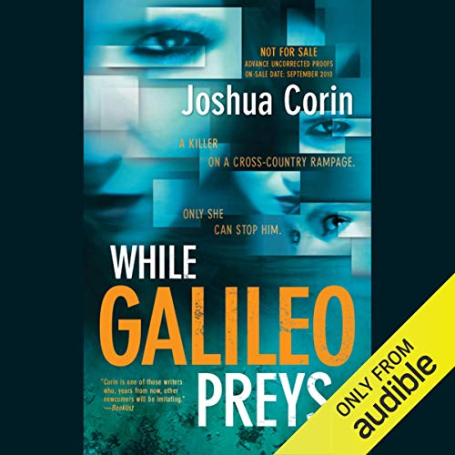While Galileo Preys audiobook cover art