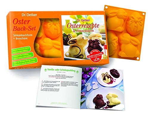 Oster Back-Set, Silikonbackform (Buch Plus)
