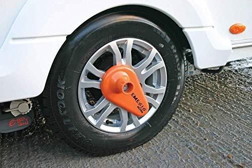 High Security Motorhome Wheel Clamp