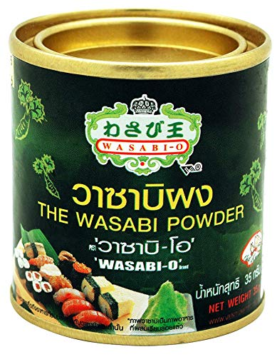 Wasabi-O, Wasabi Powder 1.24 Oz (35 g) The ideal not only with Japanese cuisine, Sushi, Salmon and Sashimi, but also other forms of Seafood, Grilled meats and Vegetarian dishes