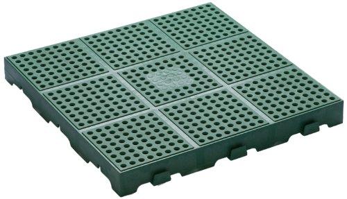 Toomax Z662RE52 Floory Set 10 Pavimentazioni, 40-H, 40X40X4, Verde