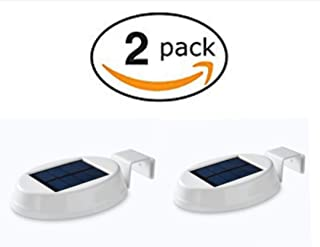 Mainstay Gutter Light LED Solar Powered 20 Lumens 2-Pack