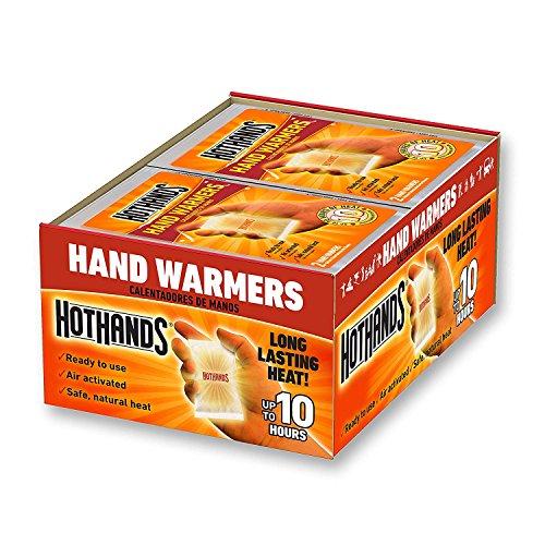 HeatMax Hot Hands 2 Handwarmer (40 Pairs) - New Version