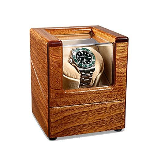 zyy Devanadera de reloj para 1 reloj automático, 5 modos de rotación con motores silenciosos, pintura de piano, almohadas tridimensionales, piel de microfibra adecuada para mujeres y hombres