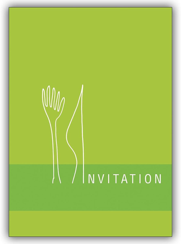 16 Einladungskarten (16er Set)  Französische Französische Französische Einladungskarte zum Diner  Invitation B00VRLYA6G   Exquisite (mittlere) Verarbeitung  350424