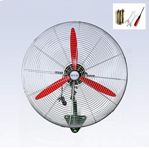 CRZ Ventilador de Pared Comercial Industrial, Extractor de Alta Potencia, Motor de Cobre Puro, Gran Volumen de Aire, inclinación Ajustable, Ahorro de energía (20/26/30 Pulgadas)