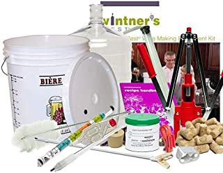 LD Carlson Vintner's Best Deluxe Equipment Kit with 6 Gallon Pet Carboy