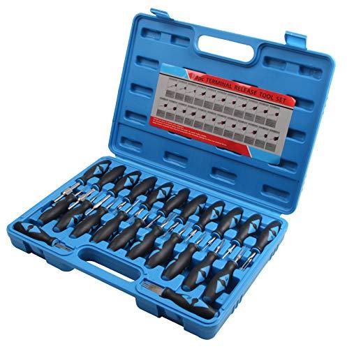 ISO Stecker Entriegelung Auspinnen Auspin Entriegeln KFZ Lösen Werkzeug 23 teilig