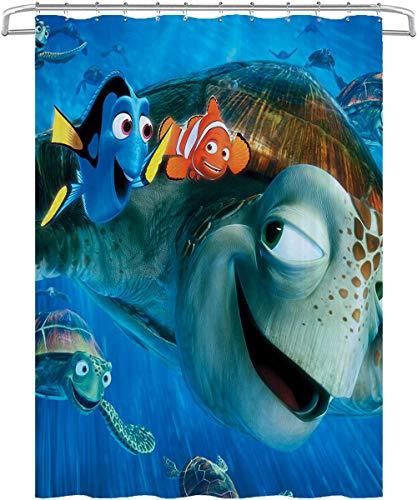 Cortinas De Baño De Baño Finding Nemo: Corusie, Dolly, Movie Poster Cortina...