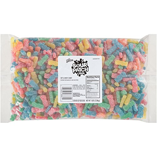 7ffa86aff Sour Patch Kids Soft and Chewy Candy, Assorted, 5 Pound Bulk Bag