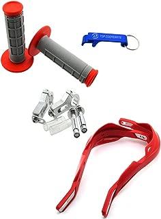 TC-Motor Handlebar Brush Bar Hand Guard Handguard Protector Throttle Grips For 7/8