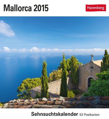 Mallorca Sehnsuchtskalender 2015: Sehnsuchtskalender, 53 Postkarten