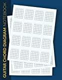 Guitar Chord Diagram Notebook: Blank Guitar Chord Workbook | Music Composition Manuscript Paper Log Book | 16 Charts Per Page For Guitar Players, Teachers, Students, Songwriters, Musicians