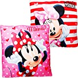alles-meine.de GmbH Kissen / Schmusekissen / Sitzkissen -  Disney - Minnie Mouse  - Kuschelkissen -...