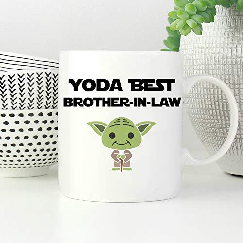 463Opher Schwager mokken Schwager koffie haver brotherinLaw geschenk grappig zwager geschenk Yoda beste Schwager