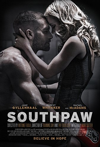 Southpaw Movie Poster approx size 11x8 inches by 11X8 INCHES