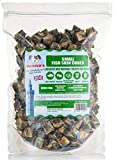 SKIPPER'S Dry Fish Skin Jerky Cubes -100% Natural Gently Air Dried Fish For Dogs Treats, Good for the Health, High in Protein and Grain Free - Popular Dog Treats (Cube size Small, 1Kg Pack)