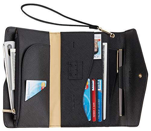 Travelambo Rfid Blocking Passport Holder Wallet & Travel Wallet Envelope Various...