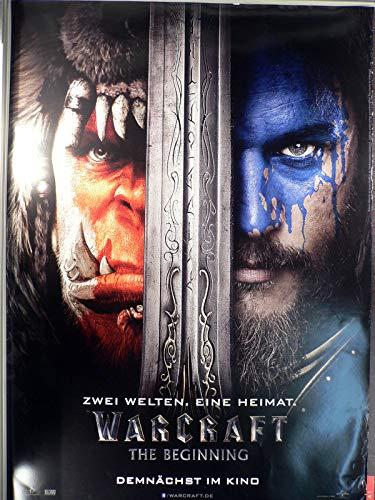 Warcraft The Beginning - Teaser - Filmposter A1 84x60cm gerollt